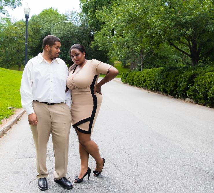 Engagement Photography Session Piedmont Park. Atlanta Photographer. Atlanta Photography. Atlanta, GA.