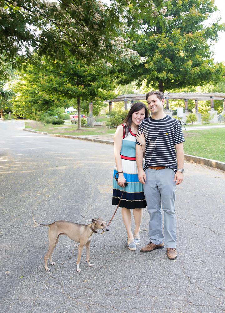 Engagement Session. Atlanta Engagement Photography. Piedmont Park, Atlanta, GA.